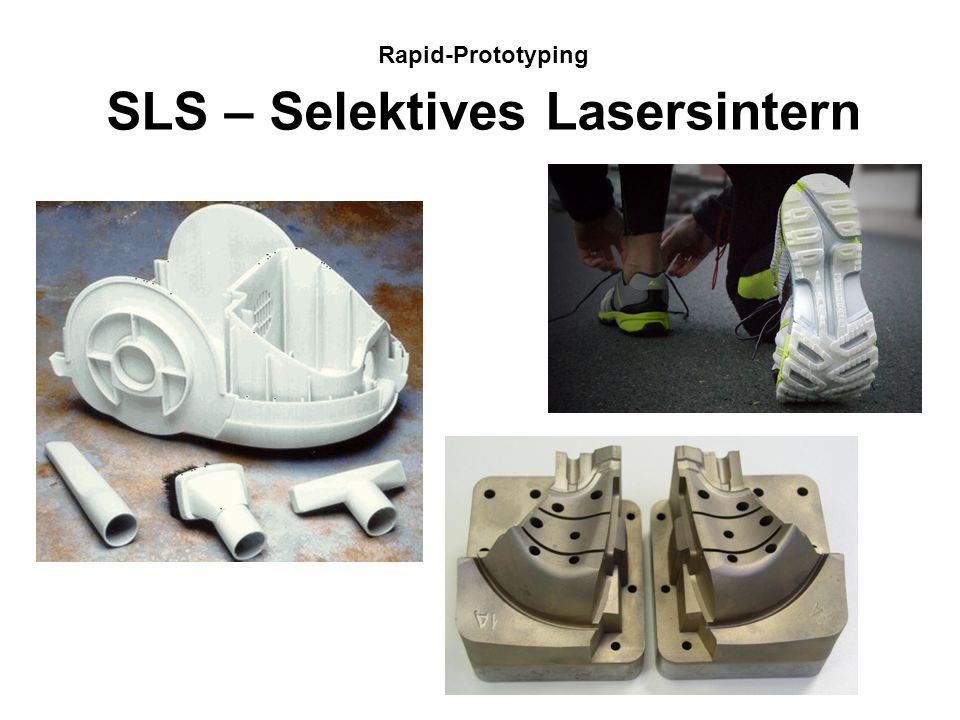 Quelle: Universität Magdeburg Rapid-Prototyping-Verfahren Nr. 2 der Verfahren Nr. 1 der Verfahren Nr. 3 der Verfahren Nr. 4 der Verfahren