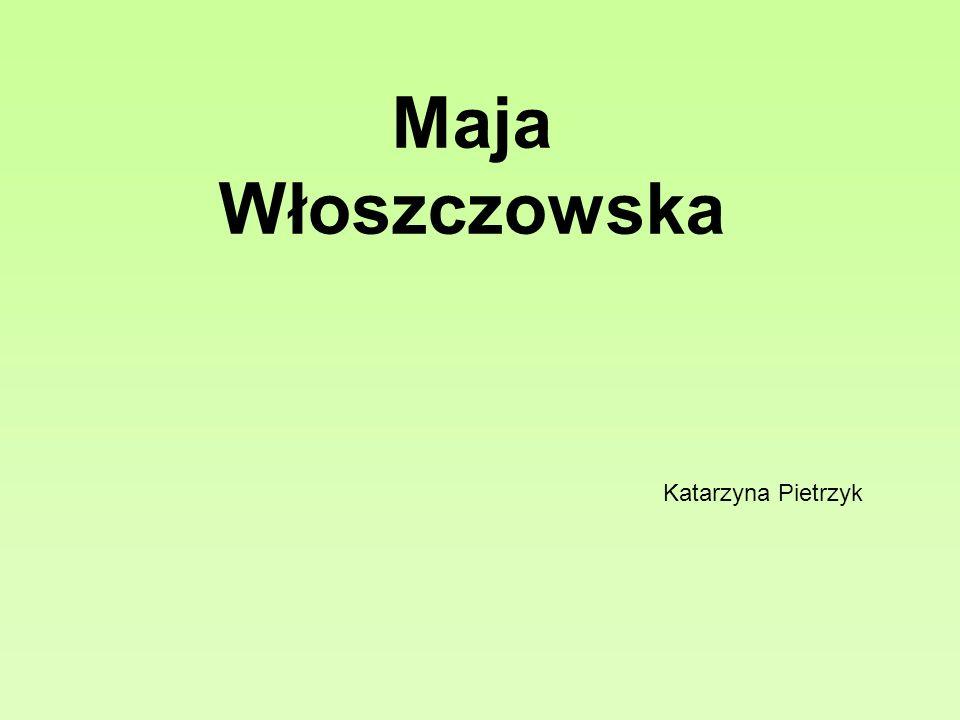 Maja Martyna Włoszczowska geboren 9.November 1983 in Warschau.