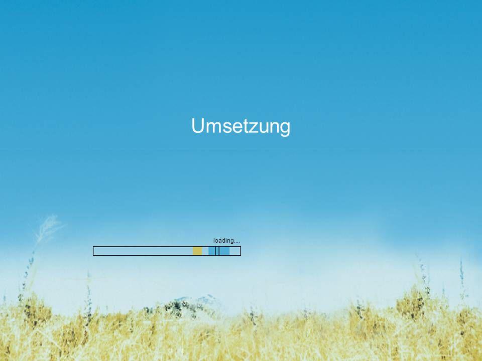 Umsetzung loading....