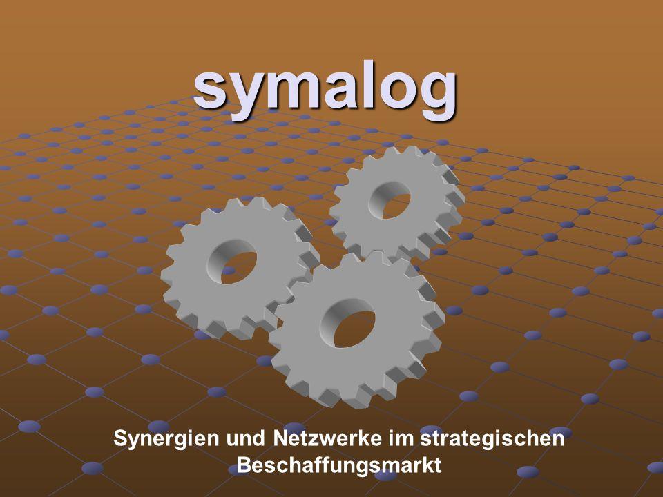 symalog Synergien und Netzwerke im strategischen Beschaffungsmarkt