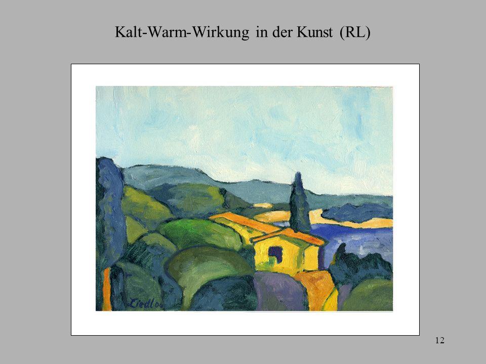 12 Kalt-Warm-Wirkung in der Kunst (RL)