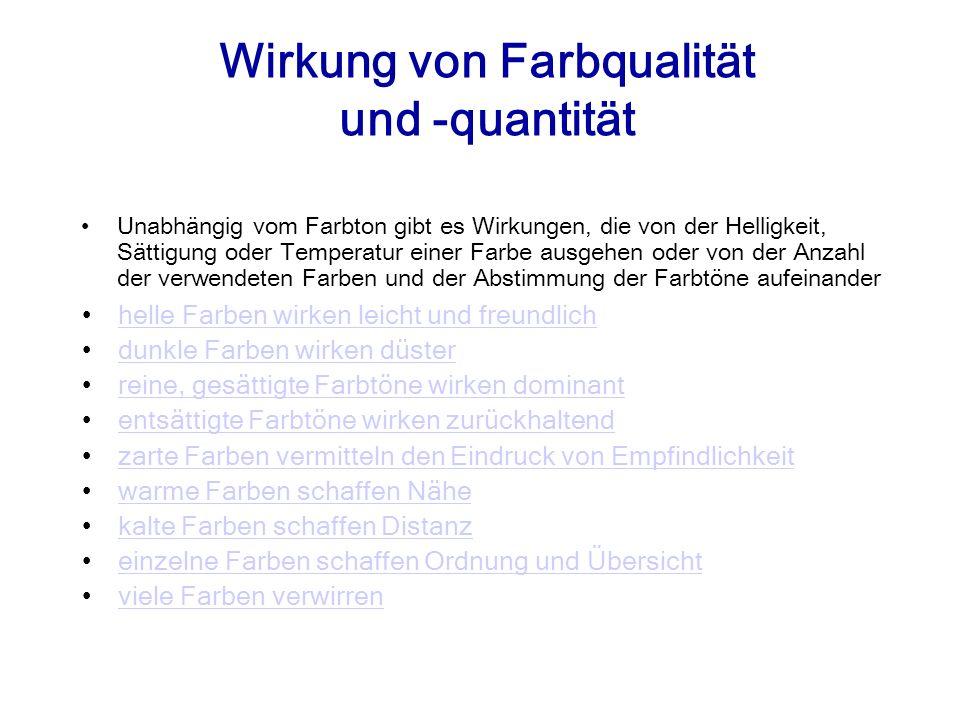 Quellennachweis Braem, H., (2001).Die Macht der Farben.