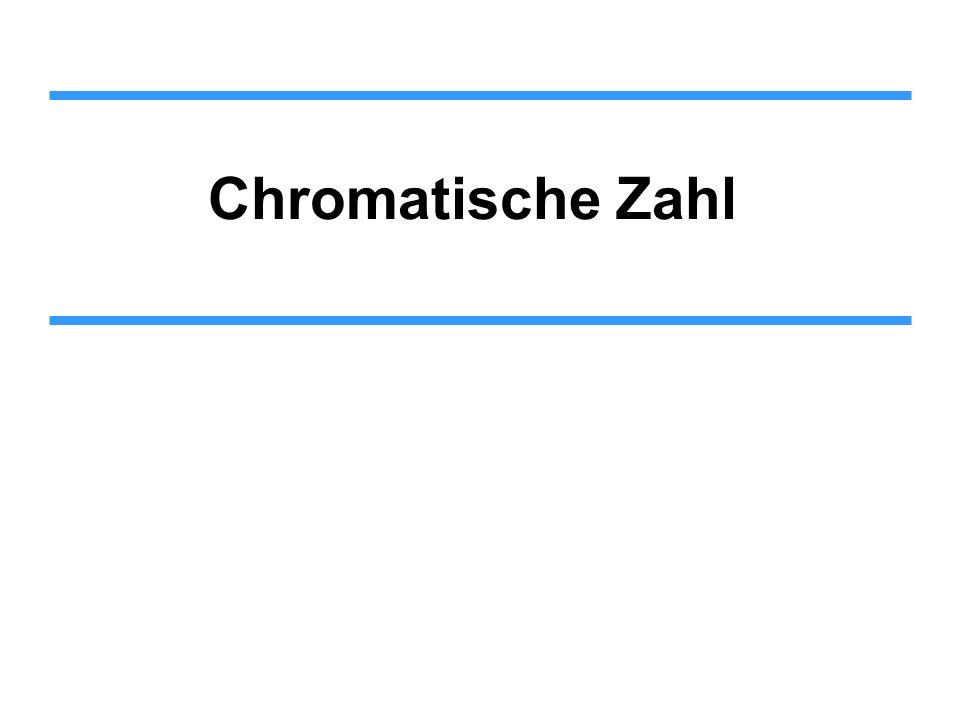 Chromatische Zahl