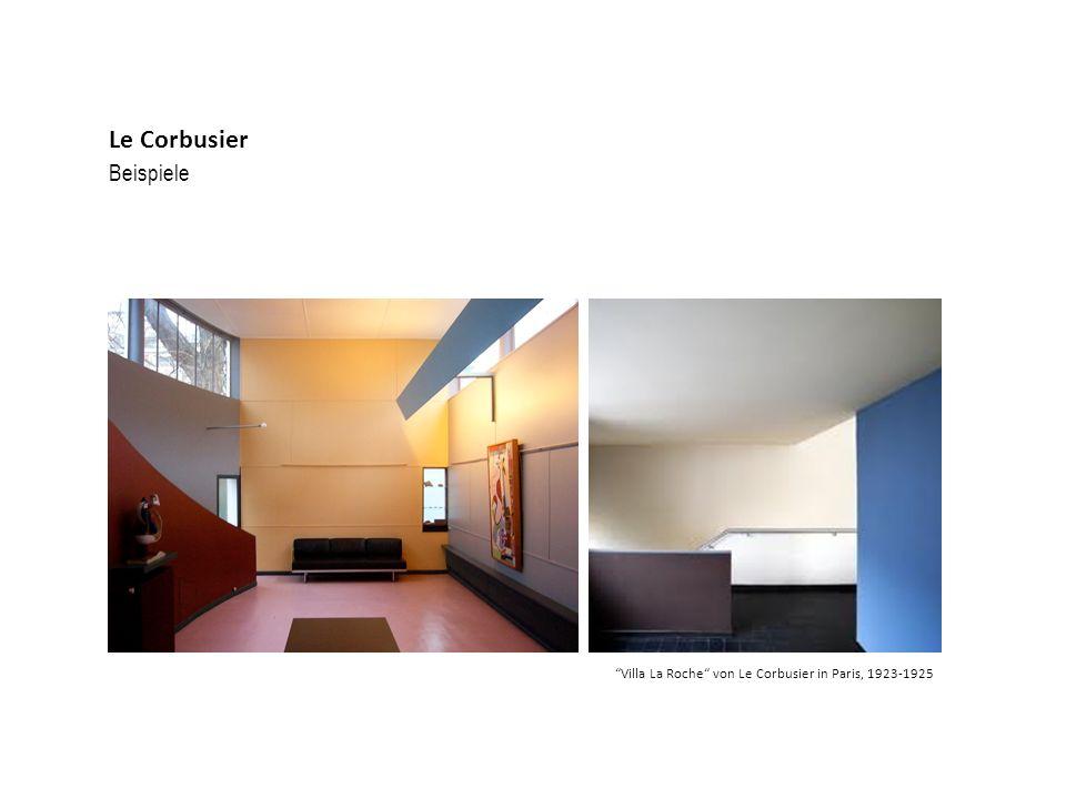 Beispiele Le Corbusier Villa La Roche von Le Corbusier in Paris, 1923-1925