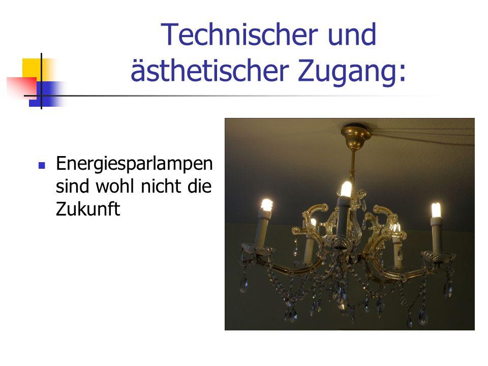 Energiesparlampen sind wohl nicht die Zukunft