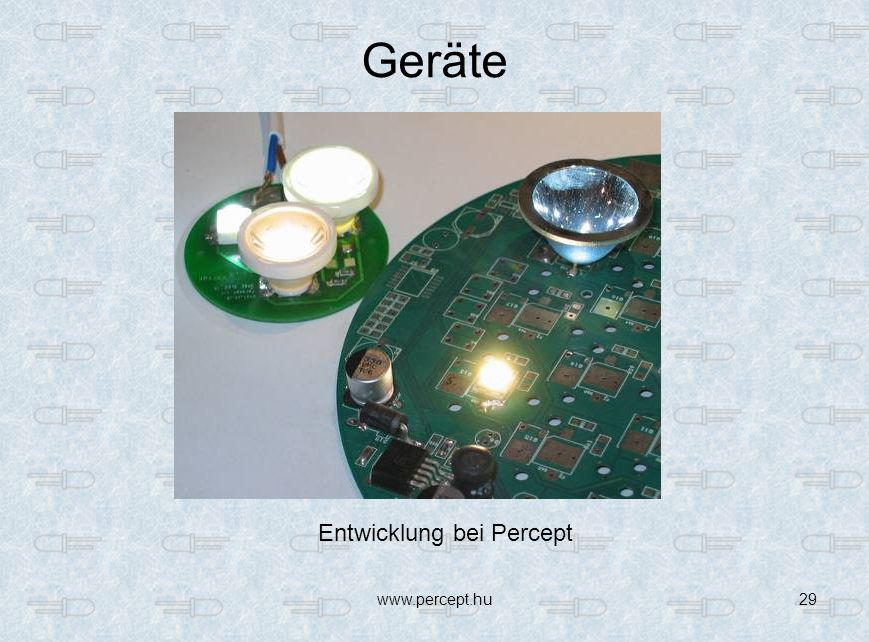 www.percept.hu29 Geräte Entwicklung bei Percept