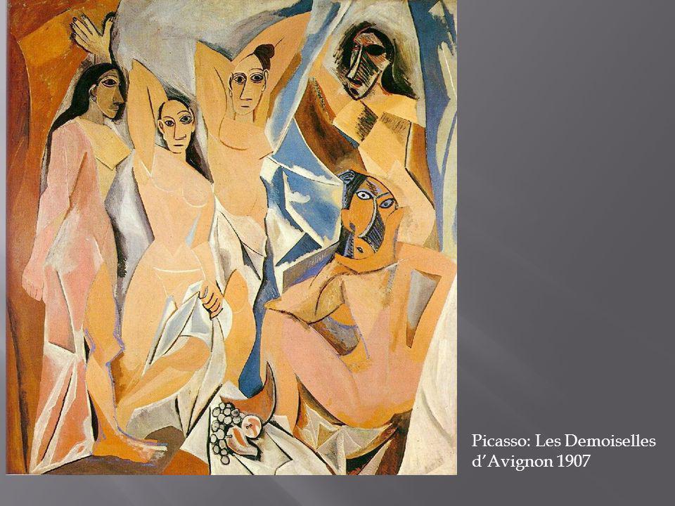 Picasso: Les Demoiselles dAvignon 1907