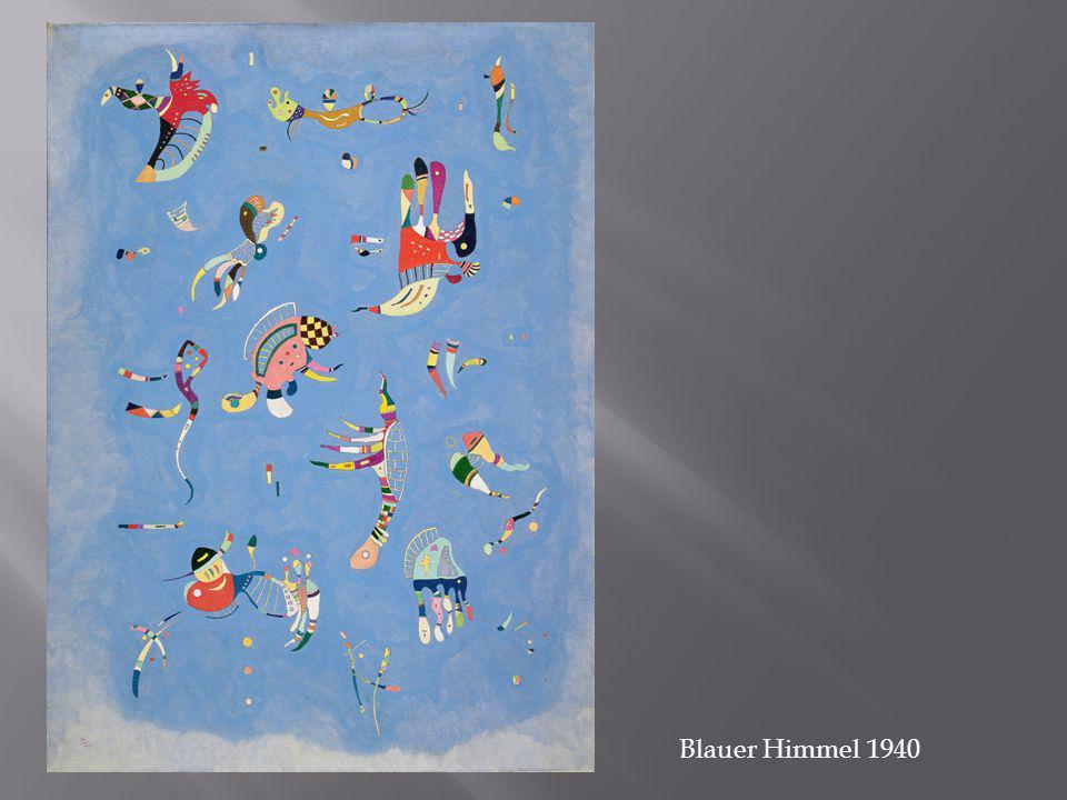 Blauer Himmel 1940