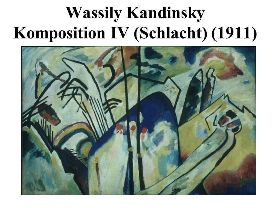 Wassily Kandinsky Komposition IV (Schlacht) (1911)