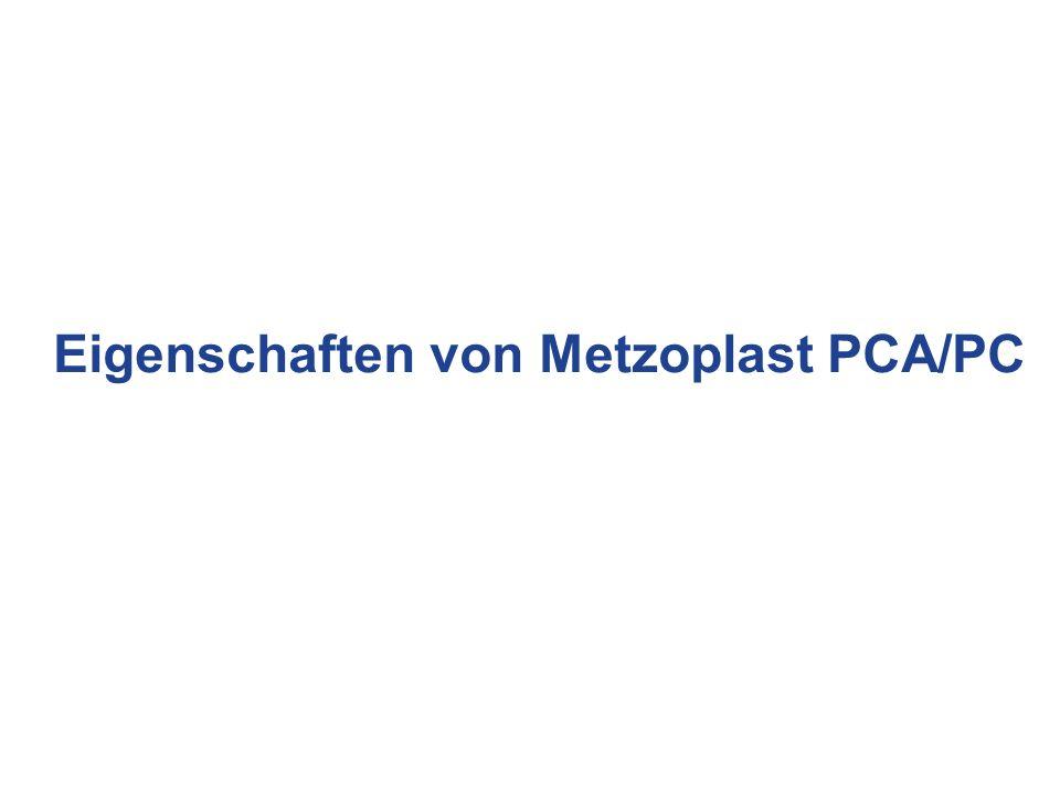 Eigenschaften von Metzoplast PCA/PC