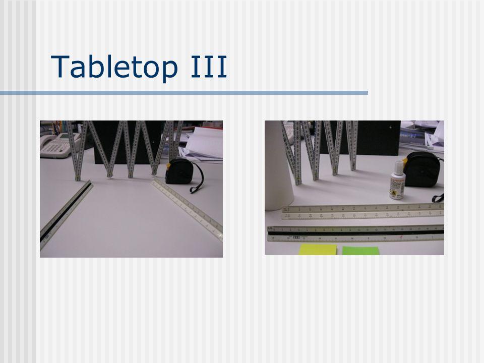 Tabletop III