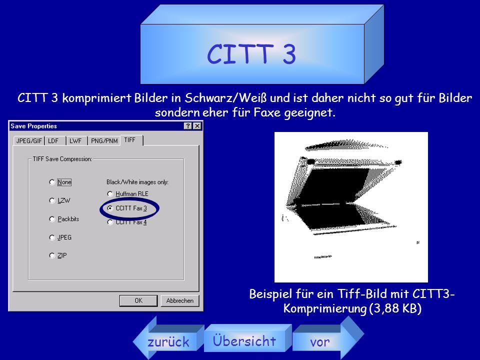 LZW LZW ist das beste TIFF-Komprimierungsformat. Beispiel für ein Tiff-Bild mit LZW-Komprimierung (92 KB) zurück Übersicht vor