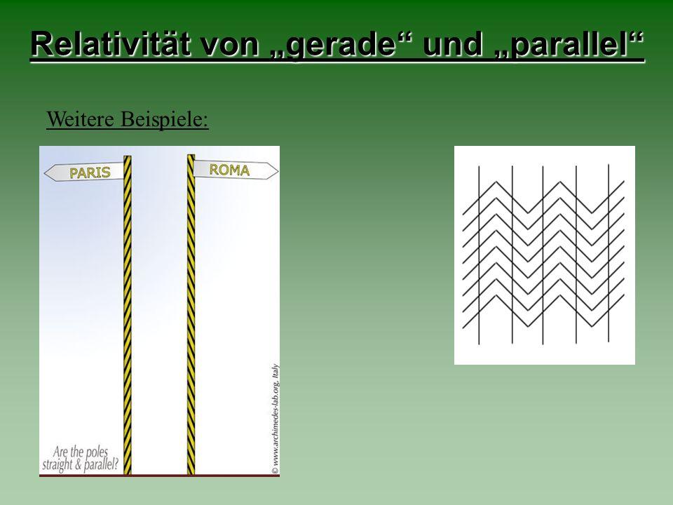 Relativität von Farbe Wenn man etwa eine halbe Minute lang auf das grüne Quadrat im Bild rechts starrt und anschließend auf die freie Fläche daneben sieht, so erscheint darauf ein rötliches Quadrat.