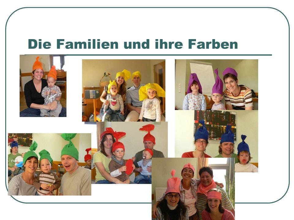 Die Familien und ihre Farben