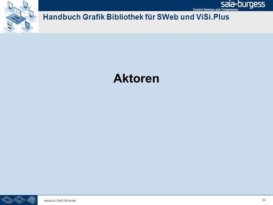 34 Handbuch Grafik Bibliothek Handbuch Grafik Bibliothek für SWeb und ViSi.Plus Aktoren