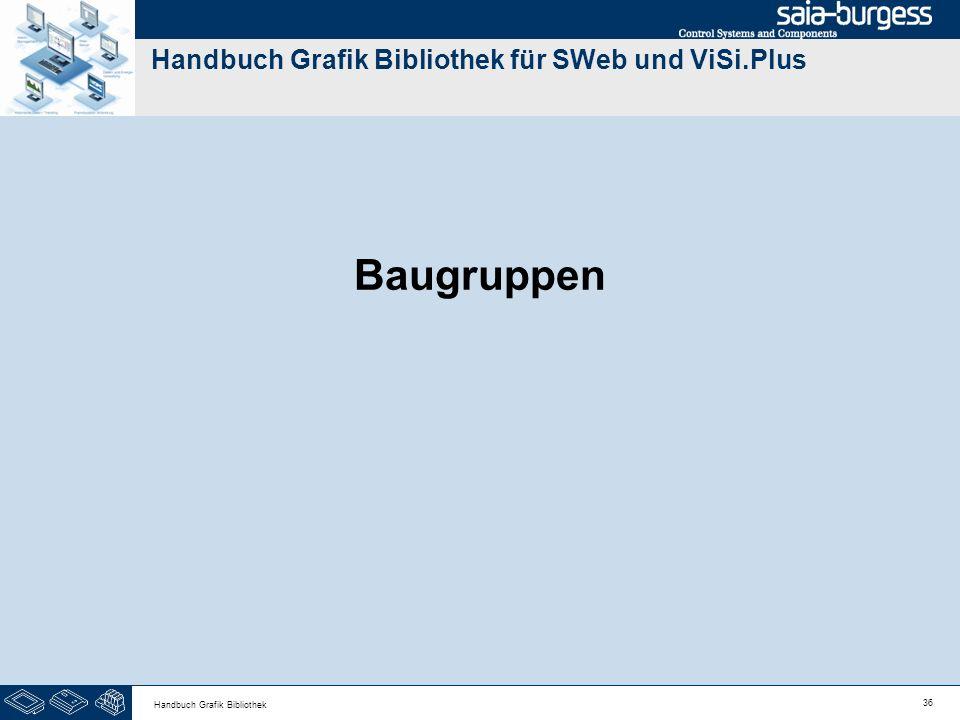 36 Handbuch Grafik Bibliothek Handbuch Grafik Bibliothek für SWeb und ViSi.Plus Baugruppen