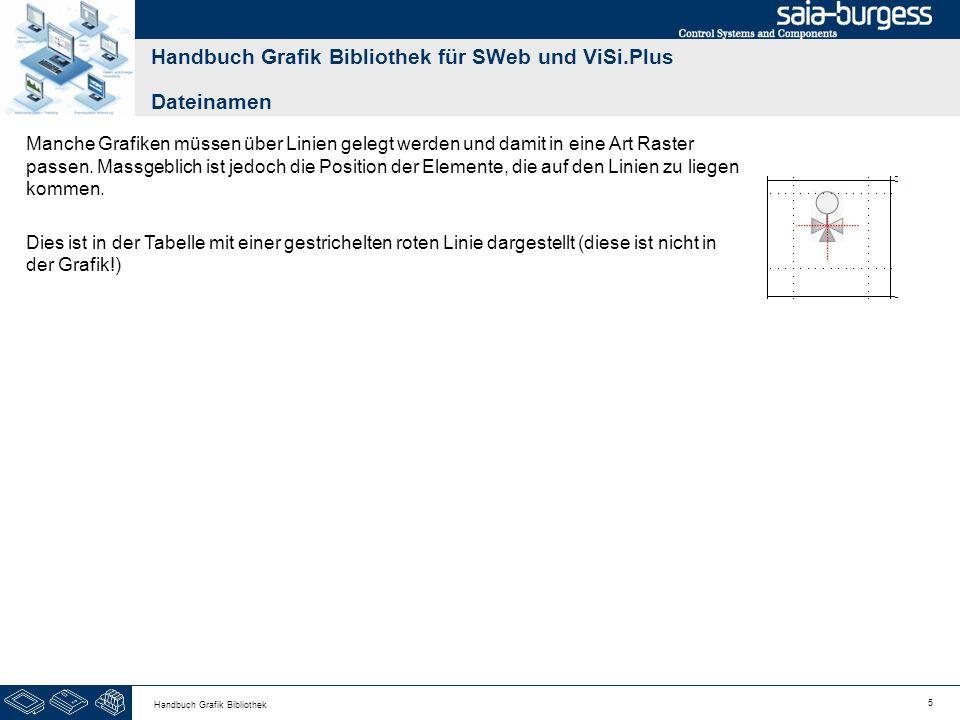 56 Handbuch Grafik Bibliothek BezeichnungGrafikDateiS B x H M B x H L B x H SanitärGE0206_x 50 60 70 Handbuch Grafik Bibliothek für SWeb und ViSi.Plus Navigationselemente