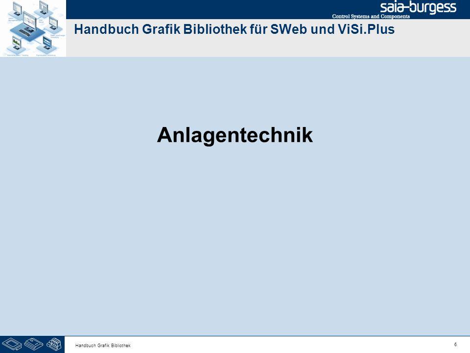 6 Handbuch Grafik Bibliothek Handbuch Grafik Bibliothek für SWeb und ViSi.Plus Anlagentechnik