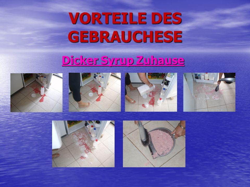 VORTEILE DES GEBRAUCHESE Dicker Syrup Zuhause