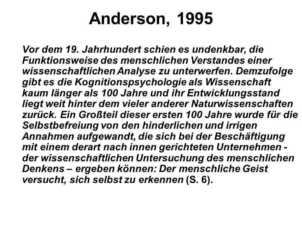 Anderson, 1995 Vor dem 19.