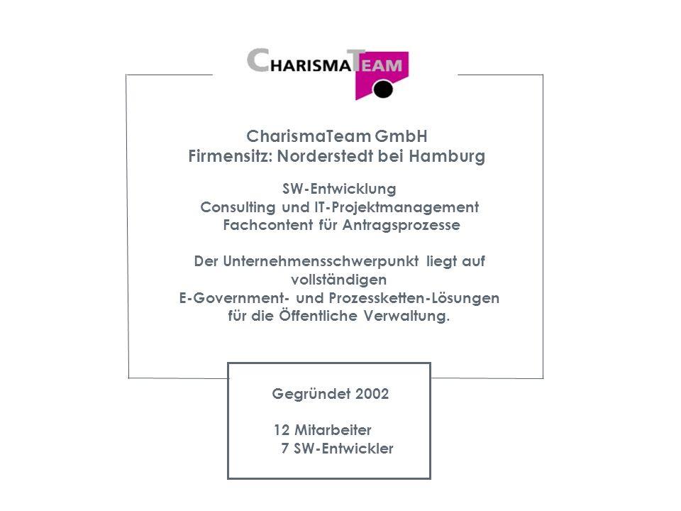 Vereins-Plattform Kontaktdaten CharismaTeam GmbH Segeberger Chaussee 275 22851 Norderstedt Britta Stender Tel.