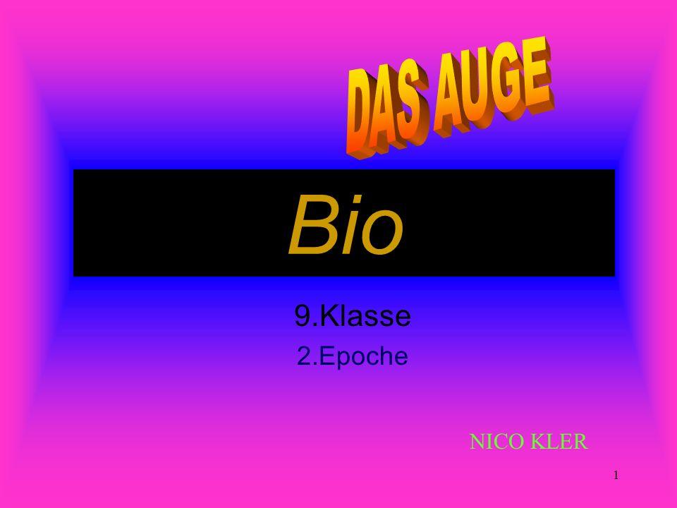 1 Bio 9.Klasse 2.Epoche NICO KLER