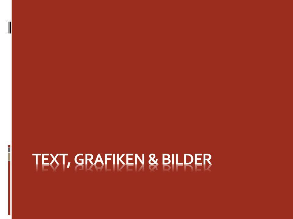 Text oben Die Textfunktionen in PowerPoint 2007 bieten neue Tricks.