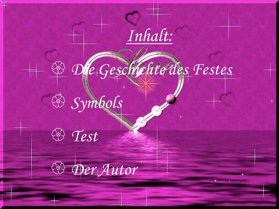 Geschichte TestAutor Symbols Verliebte