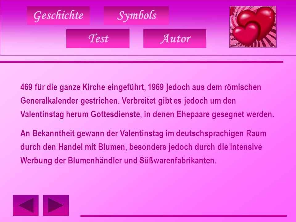 GeschichteSymbols TestAutor Valentinskarte