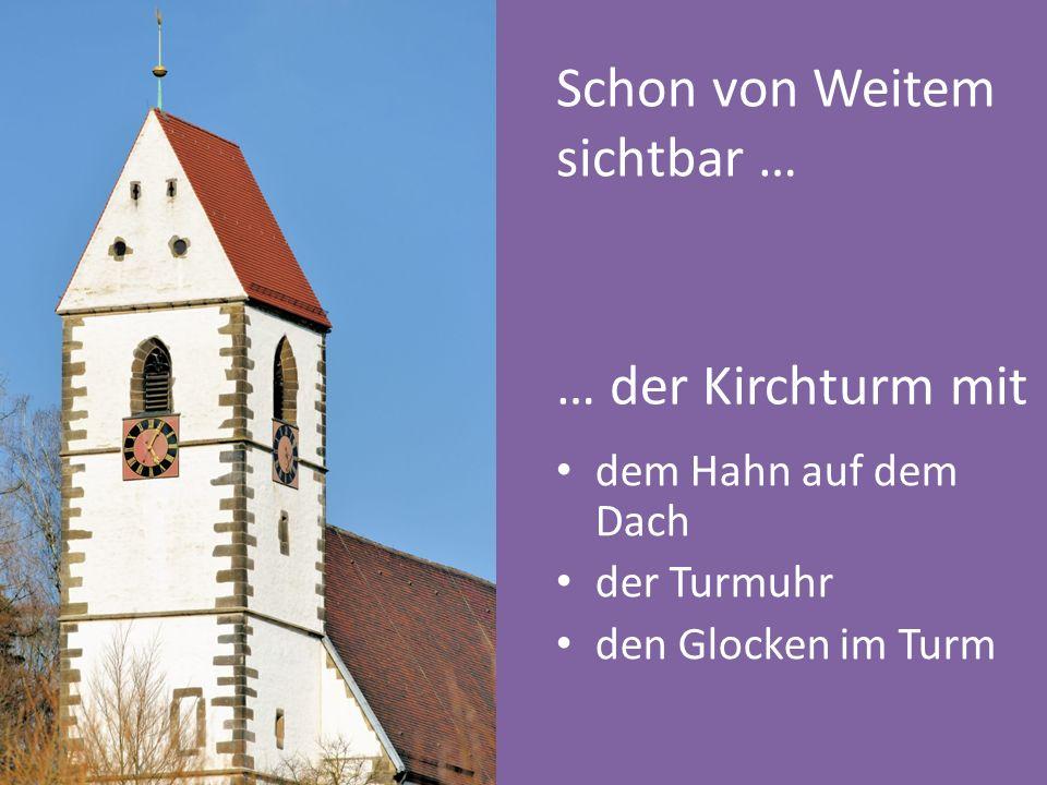 Jetzt seid ihr dran, selbstständig auf die Fragen Antworten zu finden und die Kirche genauer zu erkunden!
