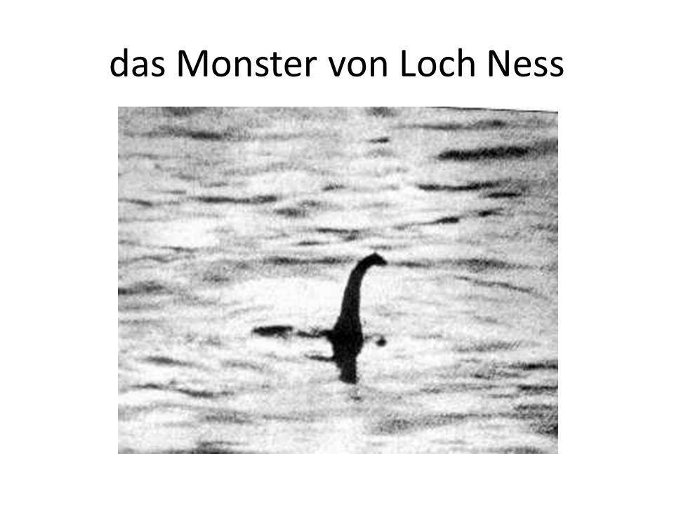 das Monster von Loch Ness