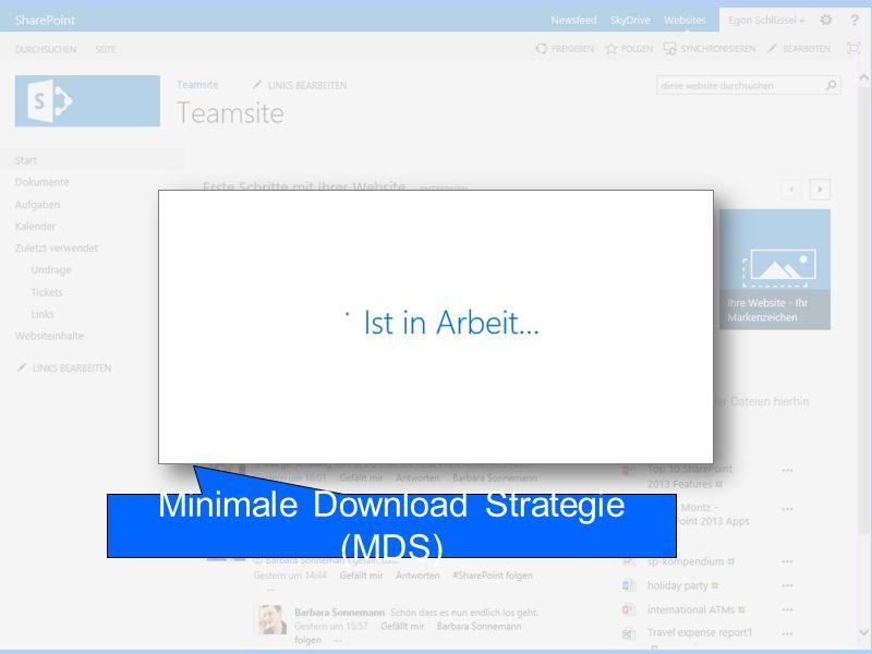 Minimale Download Strategie (MDS)