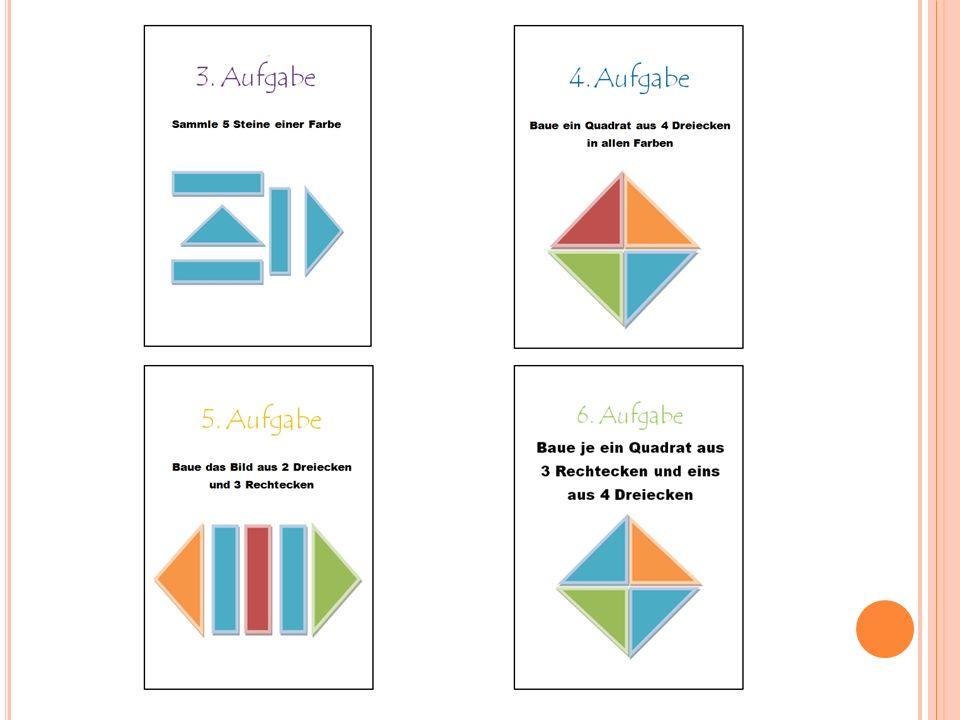 S PIELREGELN II Die Aufgaben müssen in der Reihenfolge der Karten gelöst werden.