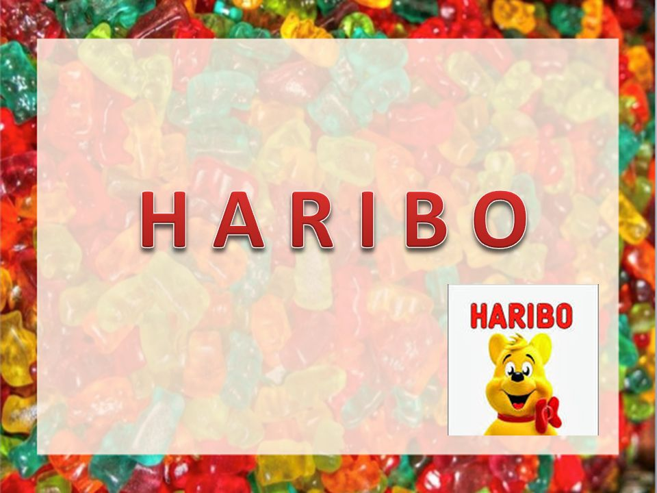 « Haribo macht Kinder froh, und Erwachsene ebenso .