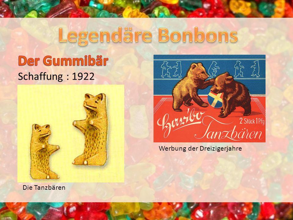 Die Tanzbären Werbung der Dreizigerjahre