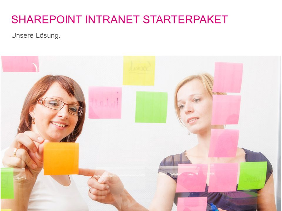 2T-Systems Multimedia Solutions GmbH | SharePoint Intranet StarterPaket | 02.10.2012 SHAREPOINT INTRANET STARTERPAKET Unsere Lösung.
