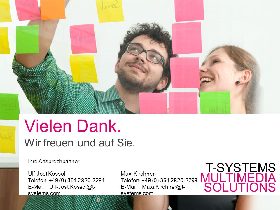 7T-Systems Multimedia Solutions GmbH | SharePoint Intranet StarterPaket | Vielen Dank.