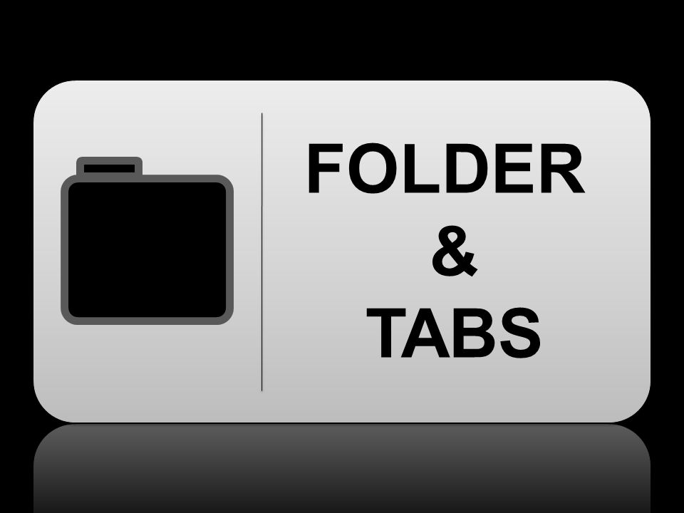 FOLDER & TABS
