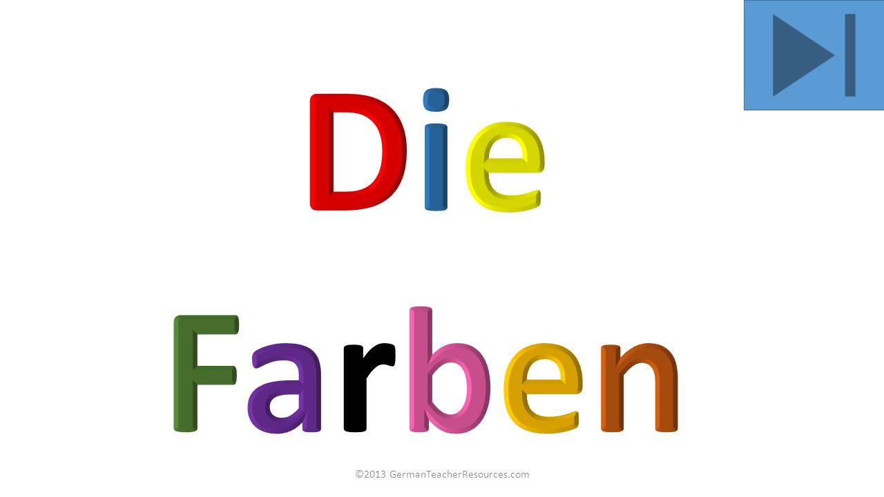 weiß ©2013 GermanTeacherResources.com