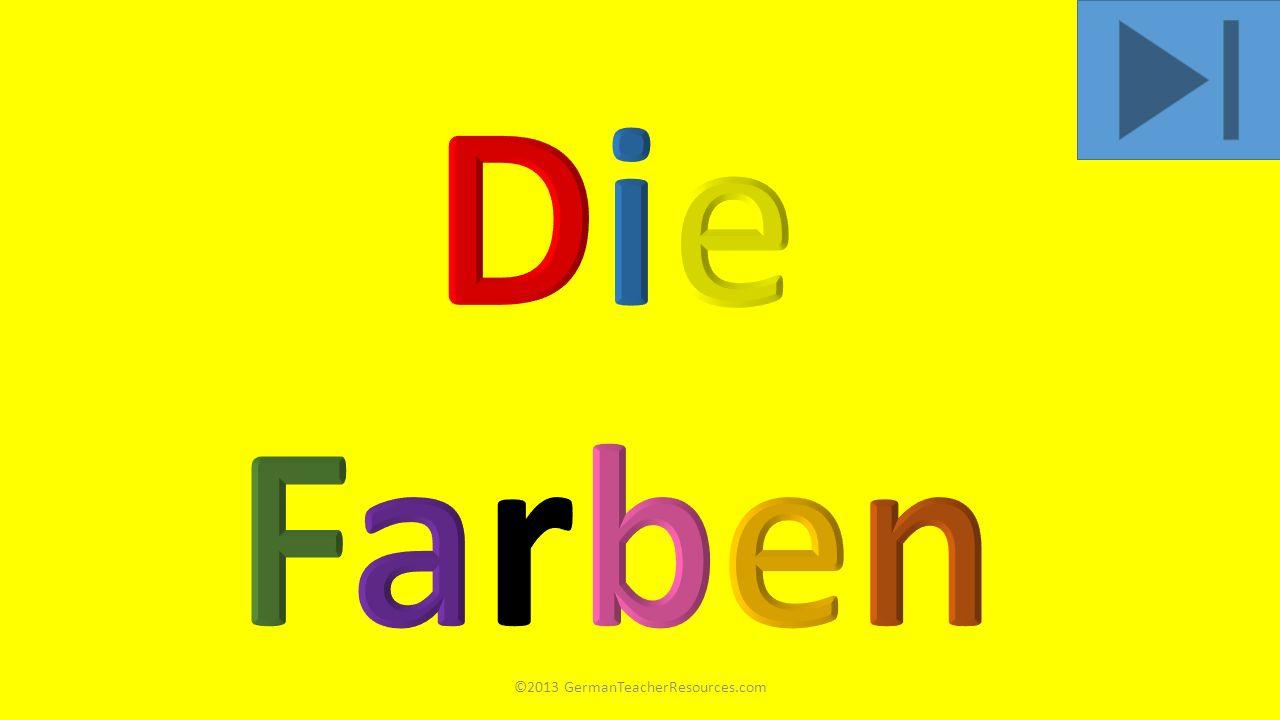 ©2013 GermanTeacherResources.com