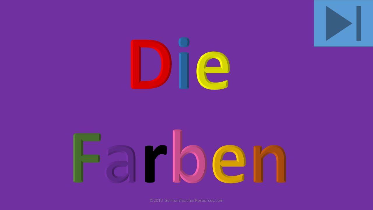 ©2013 GermanTeacherResources.com rot
