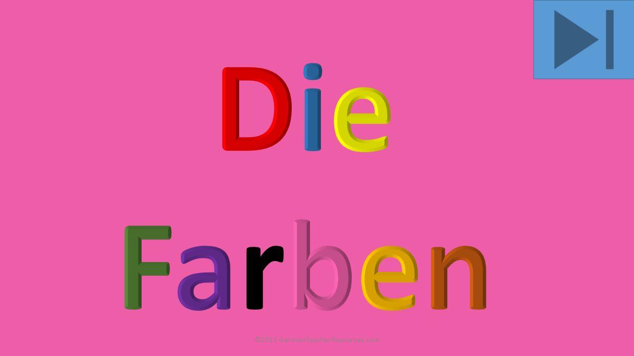 grau ©2013 GermanTeacherResources.com