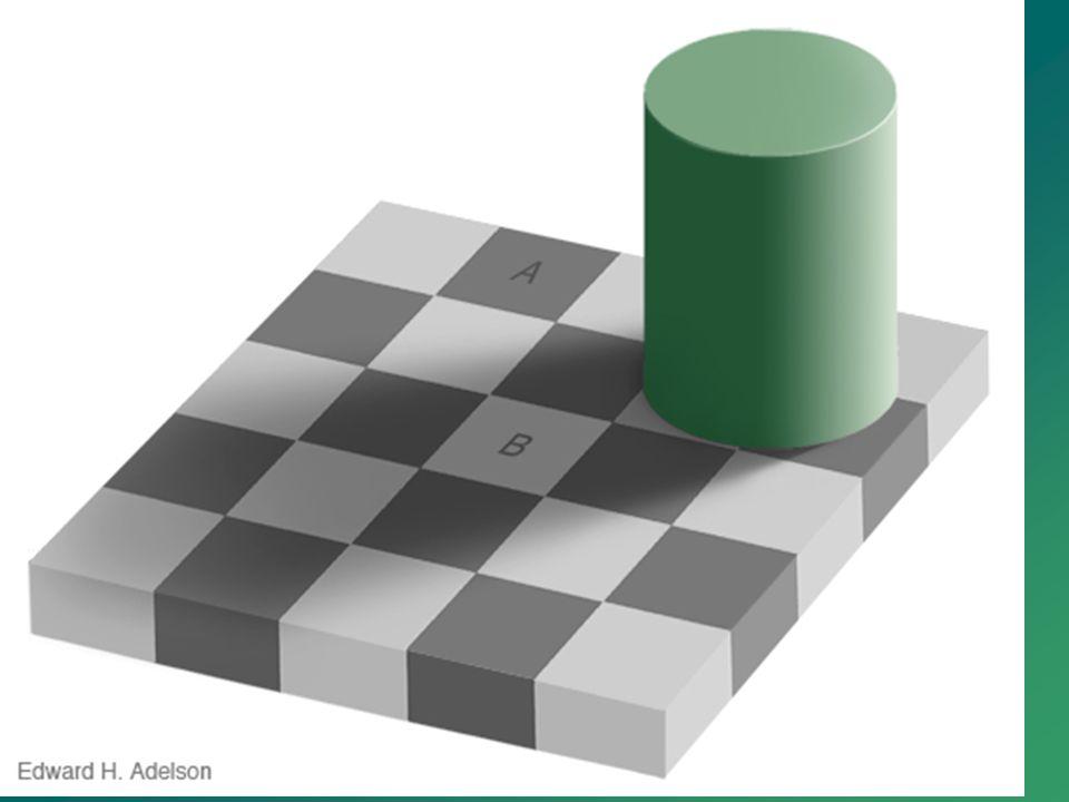 Sind die Farben der Felder A und B gleich?