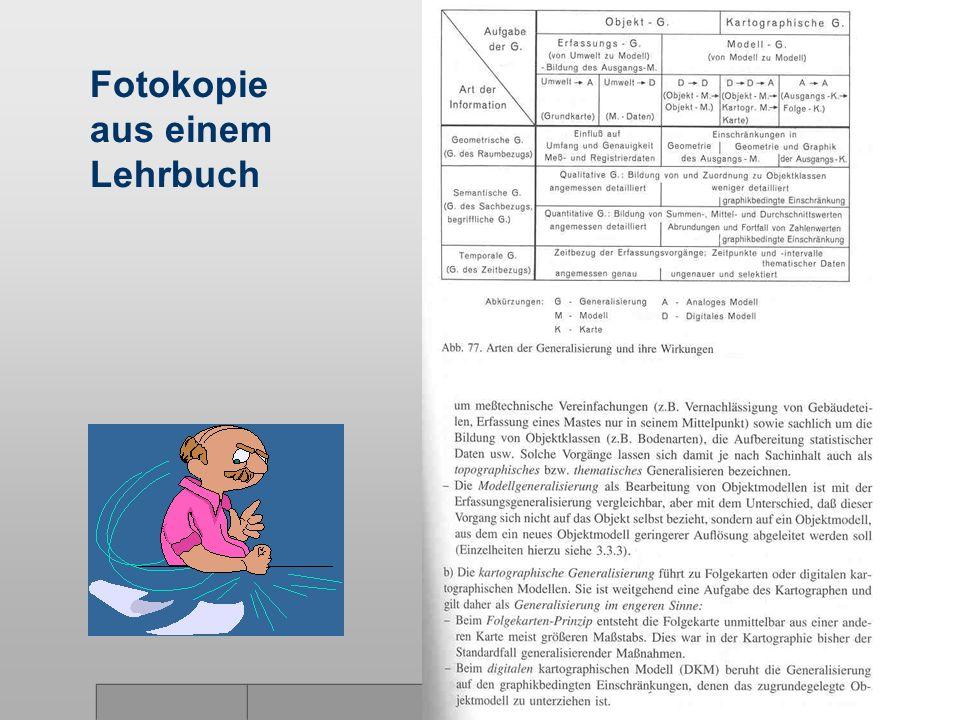 9 Fotokopie aus einem Lehrbuch