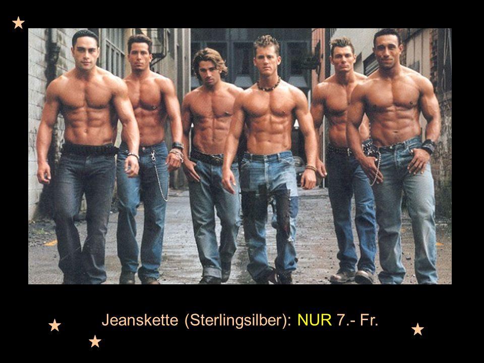 Jeanskette (Sterlingsilber): NUR 7.- Fr.