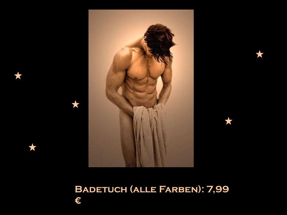 Badetuch (alle Farben): 7,99