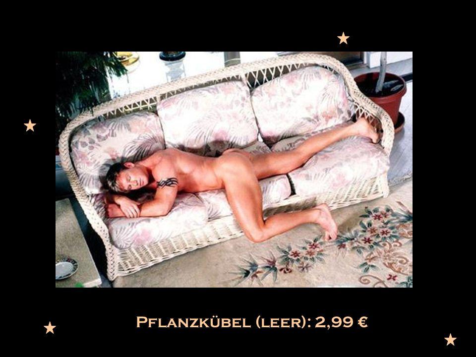 Pflanzkübel (leer): 2,99