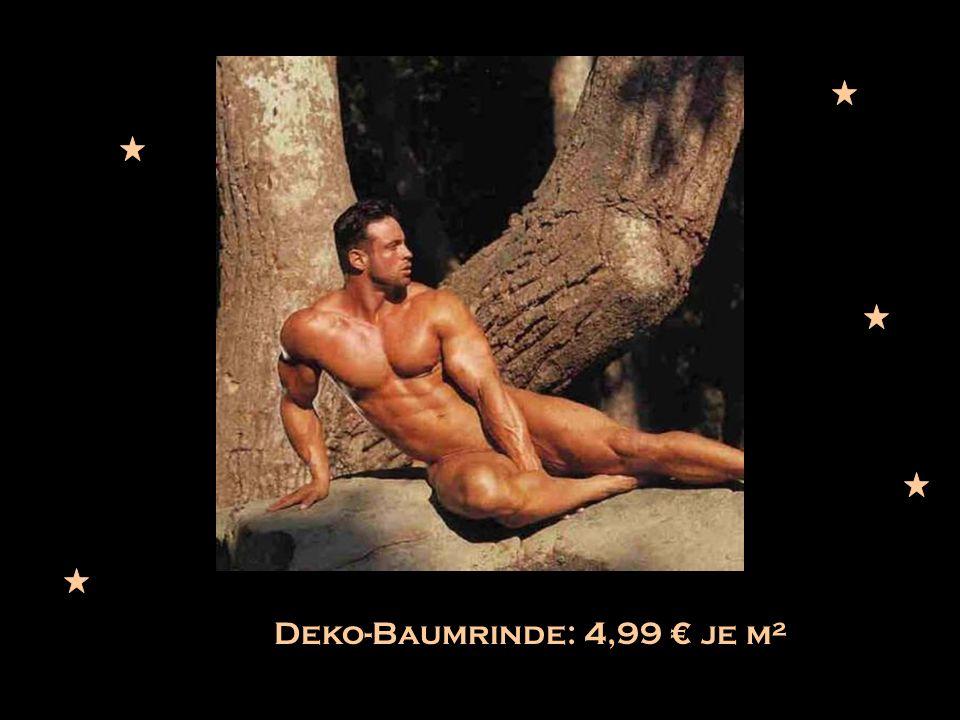 Deko-Baumrinde: 4,99 je m²