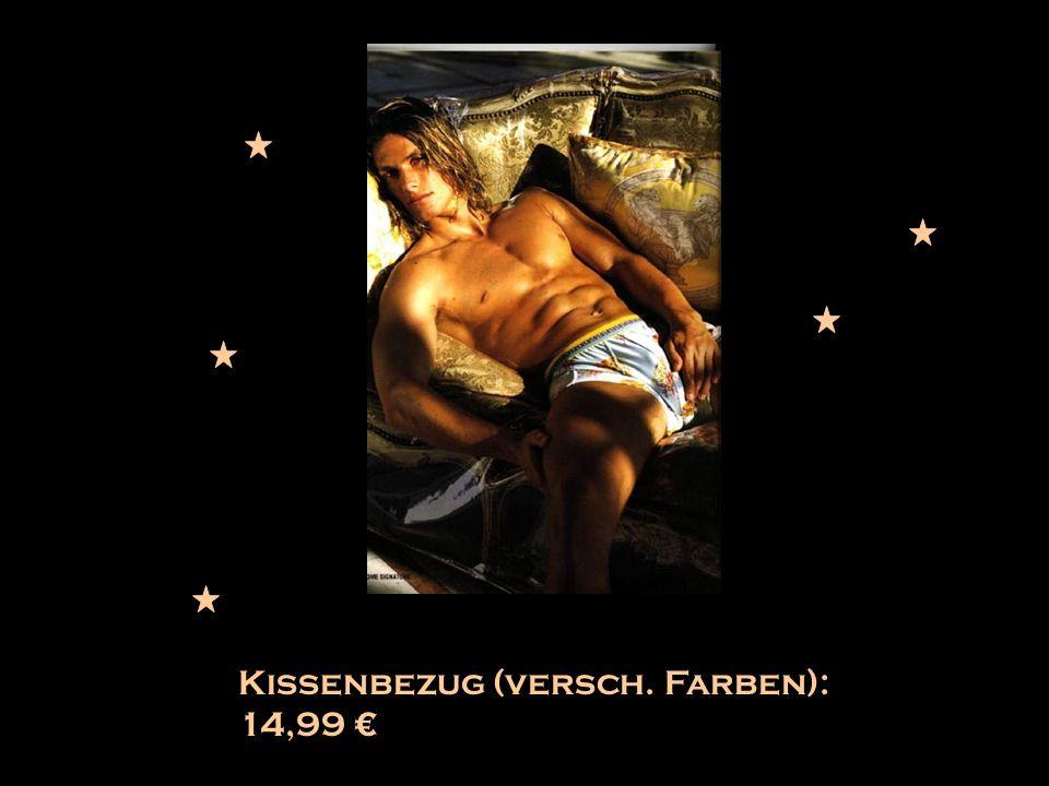 Kissenbezug (versch. Farben): 14,99