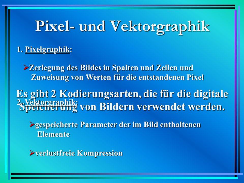 PixelgraphikVektorgraphik